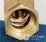 Valvola a saracinesca Bronze d'ottone del filetto femminile con il gambo Non-Aumentante