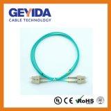 Sc Duplex Om3 Cordon de raccordement à fibre optique