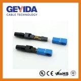 SC/PC rapidement le connecteur à fibre optique