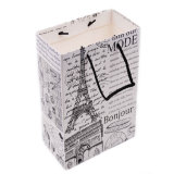 安い習慣によって印刷される再生利用できるギフトのショッピング包装の紙袋