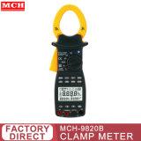 Pince multimètre d'alimentation harmonieuse, AC courant/tension, 45Hz~65Hz, avec fonction harmonique mch-9820b