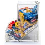 De nieuwe Moderne AcrylHouder van de Chocolade van de Showcase van het Suikergoed met Lepel