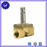 клапаны соленоида воды воздуха клапана соленоида 24V 2 дюймов дороги 2W 2/2 пневматические латунные