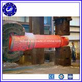 O grande forjamento de aço pesado do eixo parte o forjamento quente para as peças do forjamento do eixo da turbina