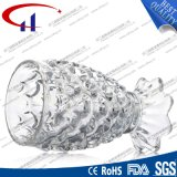 230ml Engraved Clear Glass Fish SHAPE voor Juice (CHM8439)