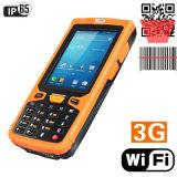 Jepower HT380A 인조 인간 OS 가득 차있는 성과 소형 끝 지원 Barcode/NFC/RFID/3G
