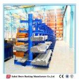 O armazenamento ao ar livre de China Nanjing trabalha as cremalheiras Cantilever de aço da fábrica da planta