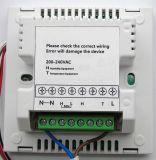 Controlador de termostato y humedad con control separado