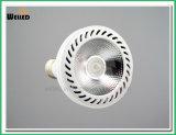 Ângulo estreito luzes claras da PARIDADE do diodo emissor de luz E27 do diodo emissor de luz de 10 graus 10W PAR30 com CRI elevado 80ra 90ra