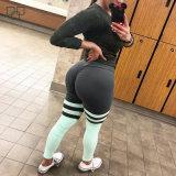 2018 оптовой Custom сухой установите фитнес-можете сминать пряди Leggings встык, женщин брюки для занятий йогой
