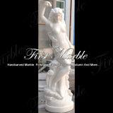 Het witte Beeldhouwwerk van de Jade voor Decoratie Mej.-407 van het Huis