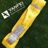 ASME B30.9 3ton Yellow 5: 1 Sangle de polyester