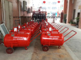 Tanque móvel da espuma para a luta contra o incêndio