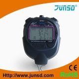 Contador de tiempo del deporte del cronómetro de memoria de la memoria (JS-605)