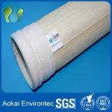 Sacchetto filtro perforato della polvere di Nomex del feltro dell'ago