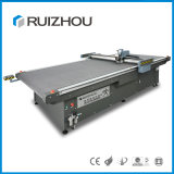Máquina automática para cortar tecidos de mesa de transporte
