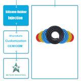 Het aangepaste Afgietsel van de Injectie van de Buis van de Vervangstukken van de Producten van het Silicone Rubber Rubber