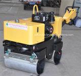 Compactador de rolo de caminhada de 800kg a gasolina (FYL-800)