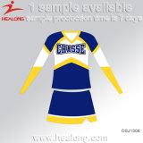 Healong 판매를 위한 신선한 디자인 스포츠 착용 승화 학교 Cheerleading 복장