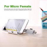 TF de Adapter van de Lezer van de Kaart voor usb-c, USB a en Micro