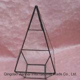 Het geometrische Stoflaken van de Fles van het Glas voor Microlanschaft
