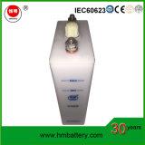Les piles NiCd faible taux piles alcalines 1,2V 60ah pour une alimentation de secours
