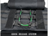 ステッチ4層ナイロン糸と防弾ベスト防弾ボディアーマーNIJ規格