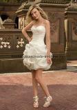 Courte robe de mariage (ML6707)