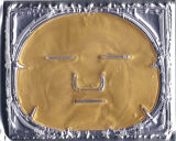 Máscara protetora do colagénio do ouro da face do envelhecimento do atraso