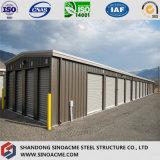 Estructura de acero de la luz de prefabricados Sinoacme cobertizo de almacenamiento