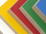 Madera contrachapada colorida del abedul de la melamina