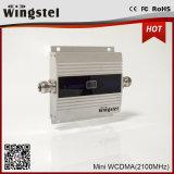 Spanningsverhoger van het Signaal WCDMA de Mobiele Amplifier/2100MHz met LCD de Repeater van het Signaal van de Fabriek Price/Wt