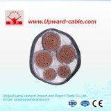 Высокий гибкий коаксиальный кабель для самого лучшего силового кабеля высокого напряжения цены