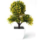 인공적인 플랜트 가정 훈장을%s 플라스틱 꽃 Bonsai 가짜 꽃 시뮬레이션 나무는 납품을 해방한다