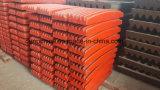 L'usure de plaque en acier de manganèse de Shanbao partie la vente chaude