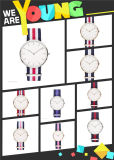 2015 Special Custom Nylon Band Copy Dw Montre-bracelet (DC-832)