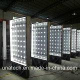 Panneau-réclame imperméable à l'eau de cadre d'éclairage LED de Scroller de supports publicitaires de route extérieure de route