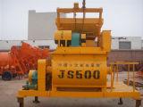 JS500 forzado mezclador de cemento de hormigón de doble eje