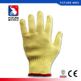 Kavlar 3 luvas resistentes cortadas nível para a proteção de trabalho das mãos