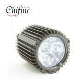 Coperchio personalizzato della lampada dell'indicatore luminoso di via del getto dell'alluminio