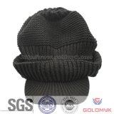 VisorのアクリルのCrochet Knitted Hat