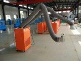 Schweißens-Dampf-Staub-Sammler mit den doppelten Armen (manuell säubernde airflow3000m3/h)