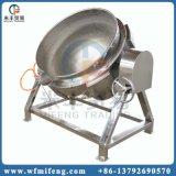 Grand pot de la cuisine en acier inoxydable