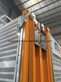 Sc270 Trois portes Ce ascenseur de construction approuvé, machines de construction à vendre