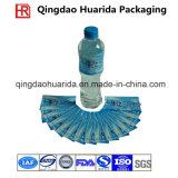 La stampa di incisione ha personalizzato il contrassegno dello Shrink del PVC per le bottiglie della bevanda