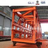 Estrutura de aço Estrutura externa do transportador de fabricação