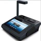 지문 NFC 인쇄 기계 Wi Fi Bluetooth를 가진 인조 인간 POS 점검 기계