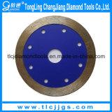 A circular longa do diamante do tempo viu a lâmina para o concreto reforçado