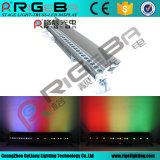 단계 27LEDs 3W RGB 옥외 LED 벽 세탁기 빛