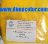 Het organische Plastiek van de Verf van Inkt 14 van het Pigment Gele (PERMANENT GEEL G GT gr. GW)